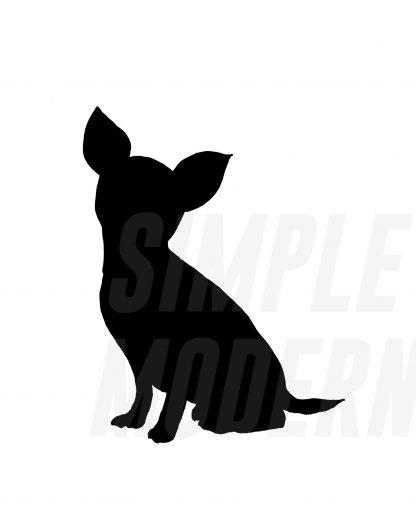 Chihuahua Silhouette SVG