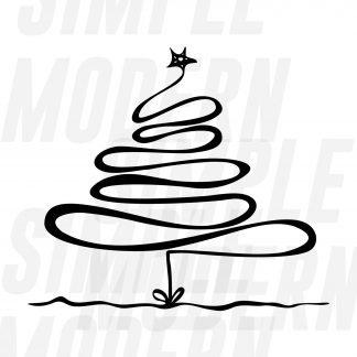 Hand Drawn Christmas Tree svg