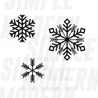 snowflake svg files