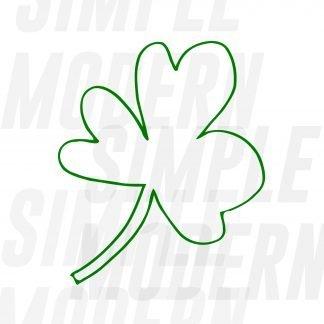 St Patrick's Day Shamrock SVG