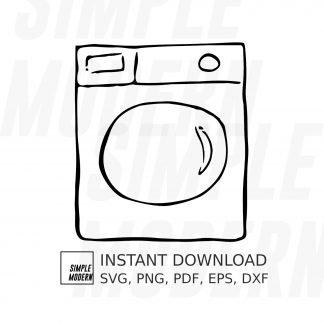 Washing Machine Drawing SVG