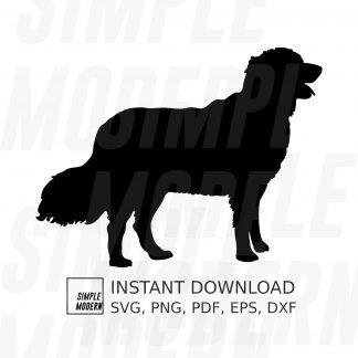 Golden Retriever Dog Silhouette
