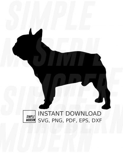 French Bulldog Silhouette