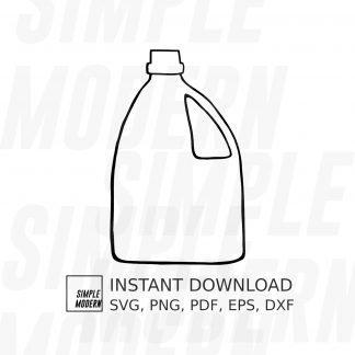 laundry detergent bottle vector file