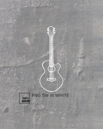 Acoustic Guitar SVG Files