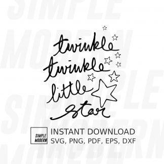 Twinkle Twinkle Little Star Vector