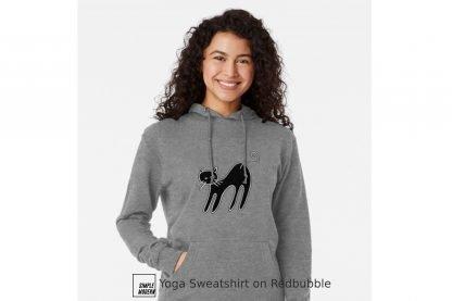 Yoga Cat Pose SVG